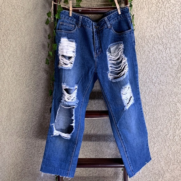 Forever 21 Denim - F21 Distressed Jeans